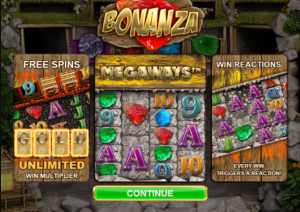 bonanza slot game play