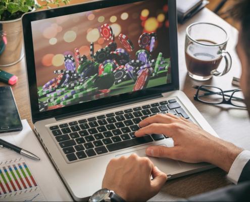 online casino illustration